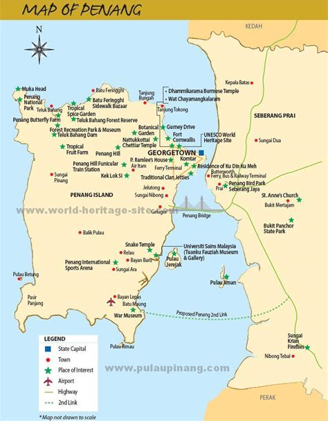 pulau pinang penang tourism travel guide georgetown
