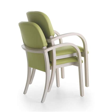 ergonomic chair with cheerful colors and pleasant shapes