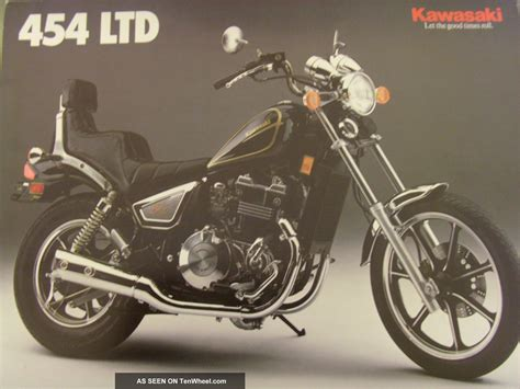 1989 Kawasaki 454 Ltd by Kawasaki 454 Ltd 1989 Vintage Motorcycle