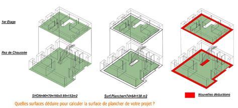 calcul surface utile bureaux surface de plancher le recours à l architecte est