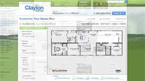 27 Floor House by Interactive Floor Plan Manufactured Homes By Clayton