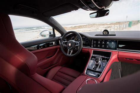 porsche panamera 2017 interior first drive 2018 porsche panamera 4 e hybrid automobile