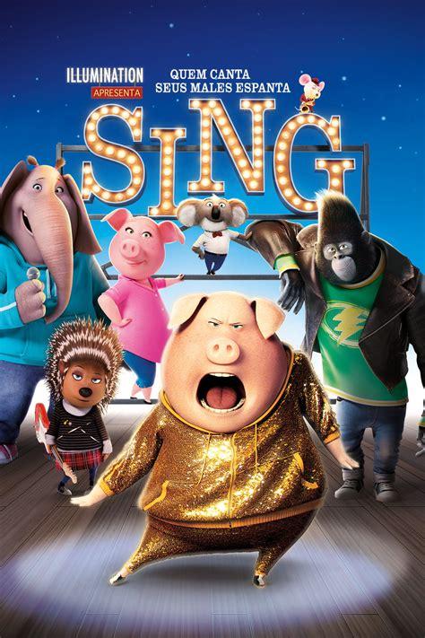 Sing Outdoor Community Movie Night Ruins Park
