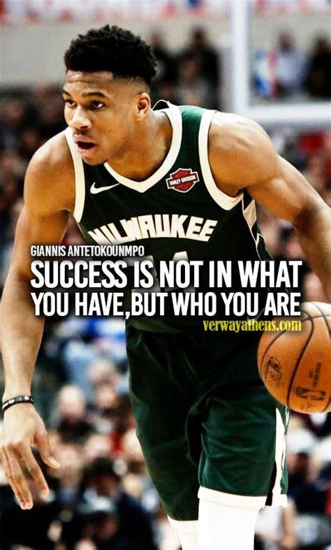 giannis antetokounmpo quotes  sayings  success