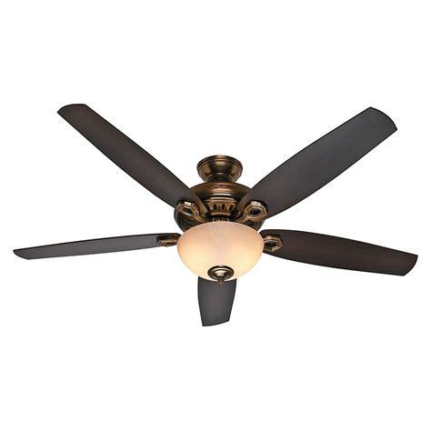 hunter fan light bulbs hunter fan company valerian bronze patina ceiling fan with