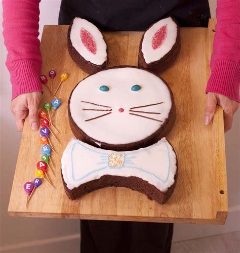 recette de cuisine pour anniversaire gâteau lapin de pâques au chocolat diy en images pas à