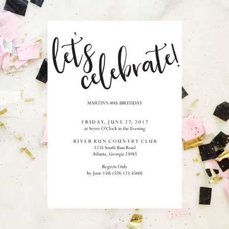 100+ Party Invitation Ideas by a Professional Party Planner