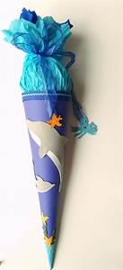 Schultüte Mädchen Basteln : delfin schult te basteln zur einschulung und schulanfang ~ Lizthompson.info Haus und Dekorationen