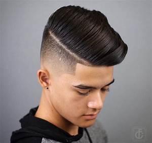 Raie Sur Le Coté Homme : 1001 id es d grad progressif l 39 ind modable coiffure homme ~ Melissatoandfro.com Idées de Décoration