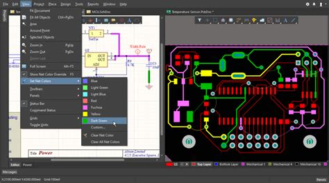 Applying Color The Nets Altium Designer User