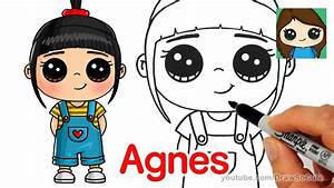How to Draw Agnes easy | Despicable Me - YouTube