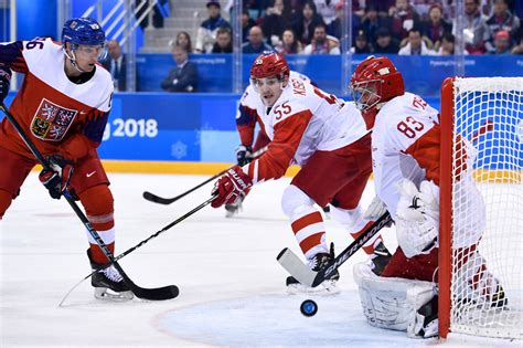 germany clears russias path  hockey gold