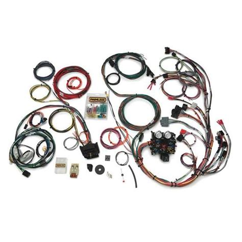 91 Jeep Wire Harnes by Painless Wiring 10111 23 Circuit Wire Harness For 1987 91
