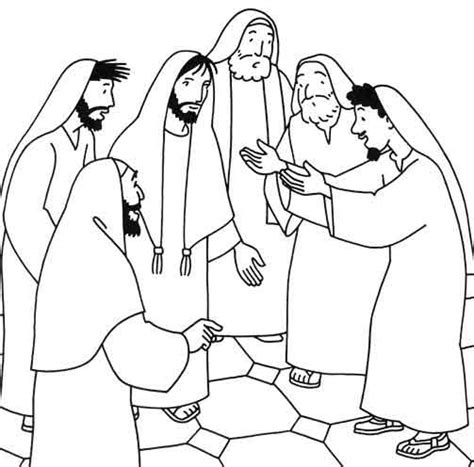 Kleurplaat Bethesda by Miracles Of Jesus Coloring Pages
