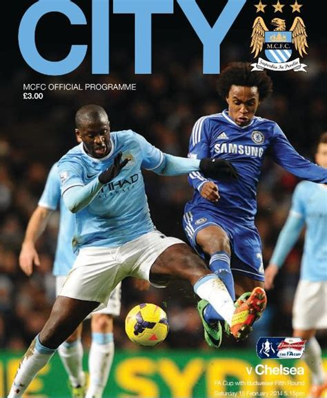 Manchester City v Chelsea FA Cup 5th Round 2013/14 – City ...