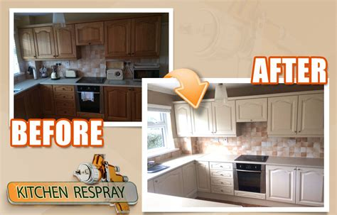 spray paint kitchen cabinets respray kitchens painting kitchens ireland 5658