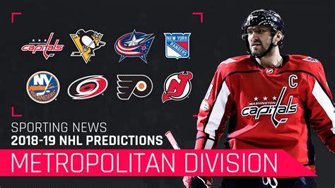 metropolitan division   predictions capitals