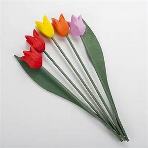 Fleur En Bois : tulipes en bois original et design fabrication fran aise ~ Dallasstarsshop.com Idées de Décoration