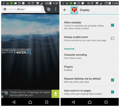 android browser with flash how to install adobe flash player on android androidpit