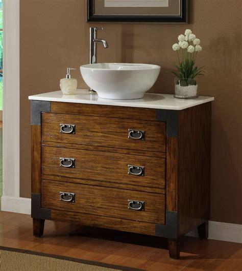 asian style akira vessel sink bathroom vanity mirror