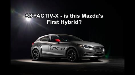 Is This Mazda's First Hybrid?