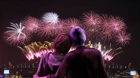 years eve loving couple romantic night