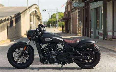 "2018 Indian Scout ""bobber"" Motorcycle"