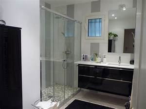 modele salle de bains avec douche salle de bain idees With modele de salle de bain avec douche italienne