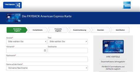 american express payback kreditkarte erfahrungen test