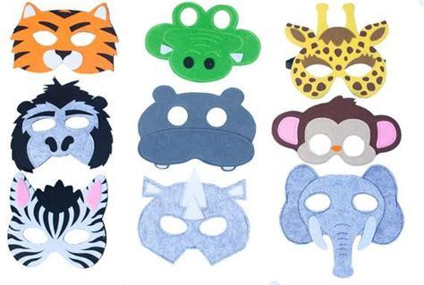 Máscaras de animales de la selva para niños fiesta