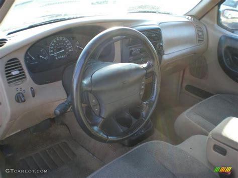 medium prairie tan interior  ford ranger xl supercab