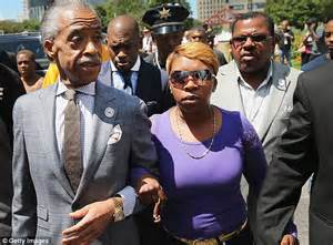Michael Brown's mother pleas for cop who shot her son dead ...