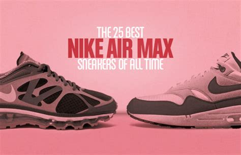 Nike Air More Uptempo  The 25 Best Nike Air Max Sneakers