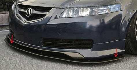 Acura Tl Type S Accessories by Custom Acura Tl Front Add On Lip Sarona