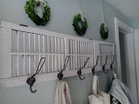 7 Inspiring Ways To Use Vintage Shutters On Your Walls