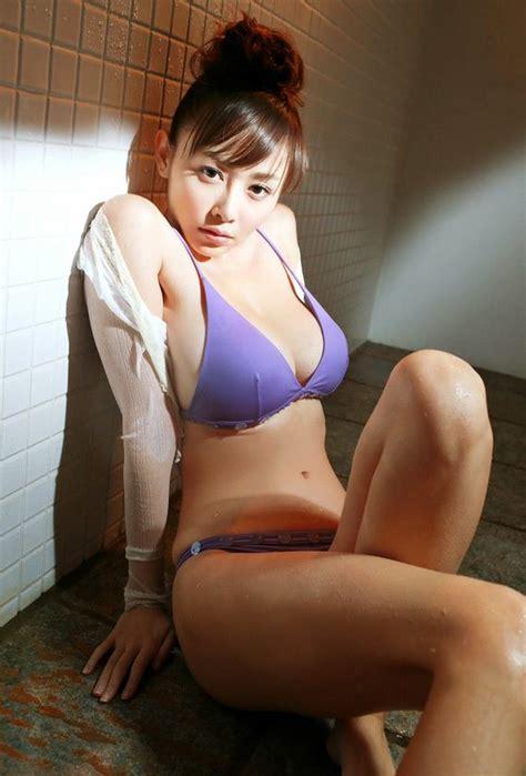 Asian Girl Anri Sugihara Wet in Stockings Strip Tease ...