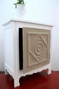 Meuble aspect sable relooker un meuble for Commenter obtenir des couleurs 6 meuble aspect sable relooker un meuble