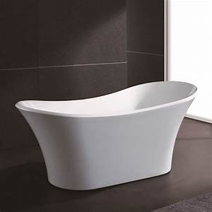 Bathroom 71quot White Color FreeStanding Acrylic Modern