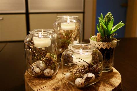 mit kerzen dekorieren  einfache dekoration tipps ohne