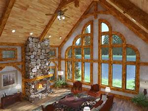Golden Eagle Log and Timber Homes - Exposed Beam Timber