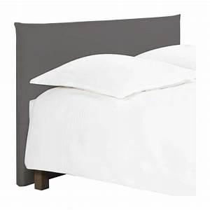 Tete De Lit Tissu Gris : jupiter t te de lit pour sommier en 160 cm en tissu gris souris habitat ~ Teatrodelosmanantiales.com Idées de Décoration