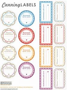 free printables canning labels for your homemade goodies With home canning labels