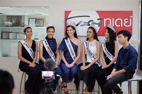 Maria Poonlertlarp Ehren Miss Thailand Universe 2017