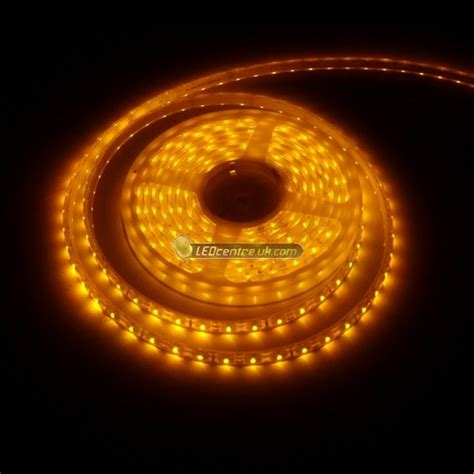 60 smd power 3528 strip 60 smd power 3528 strip led light orange 12 v dc led