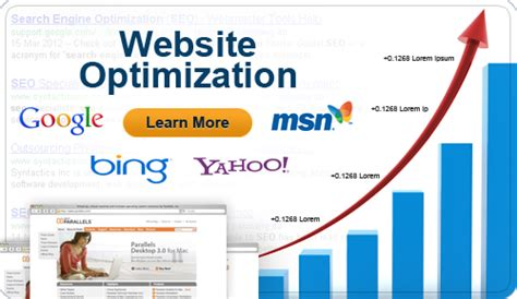 web optimisation web presence website optimization web presence