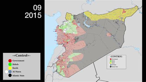syrian civil war evolution feb   feb  youtube