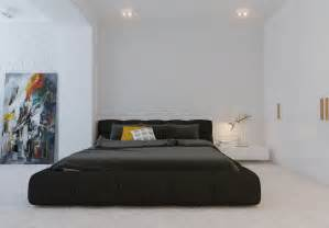 modern bedroom ideas modern minimalist black bedroom pillow design olpos design