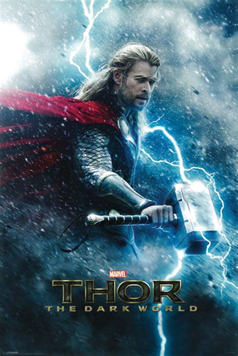New Thor The Dark World 2013 Chris Hemsworth Marvel ...