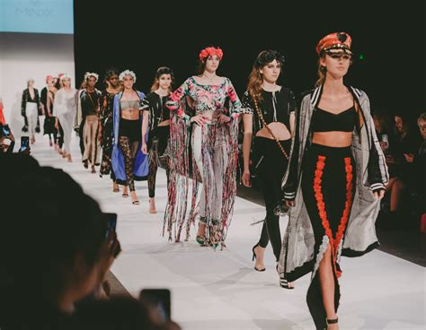 Nuns Burning Man and Japanese Art The Diverse Collections of Nashville Fashion Week 2017