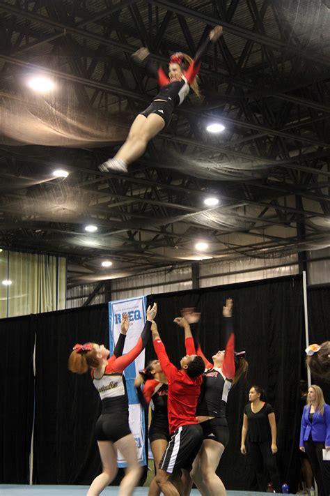 cheerleading team  action  athletics